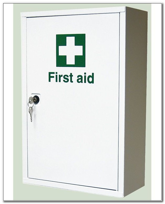 Large Wall Mounted First Aid Cabinet