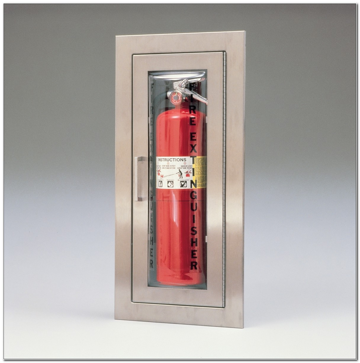 Larsen Cameo Fire Extinguisher Cabinets