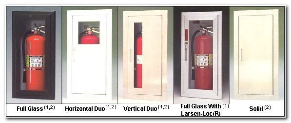 Larsen Fire Extinguisher Cabinet