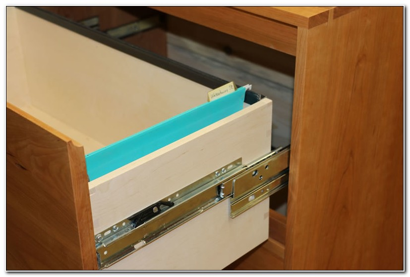 Lateral File Cabinet Drawer Slides