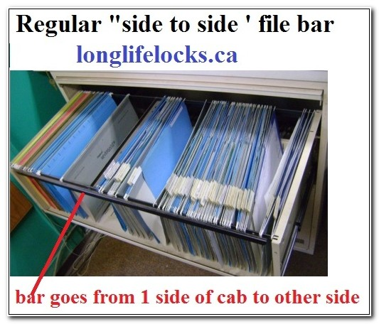 Lateral File Cabinet Hang Rails