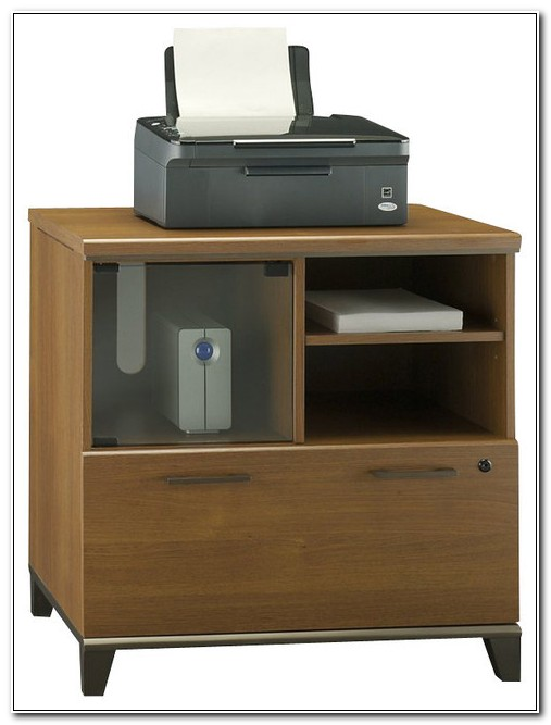 Lateral File Cabinet Printer Stand