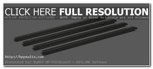 Lateral File Cabinet Rails