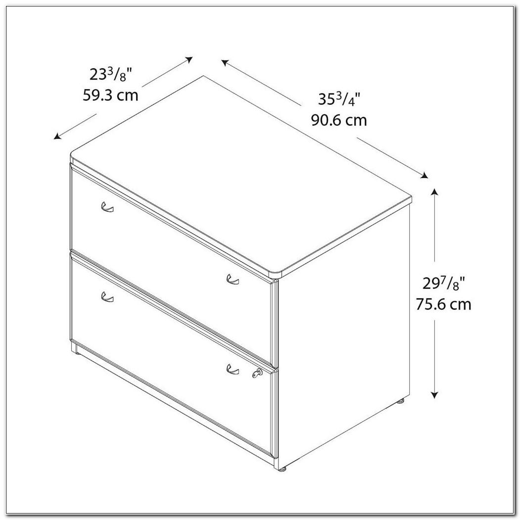 Lateral Filing Cabinet Dimensions
