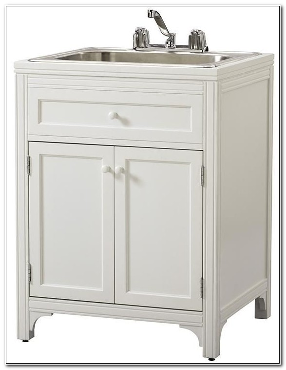 Laundry Room Sink With Storage