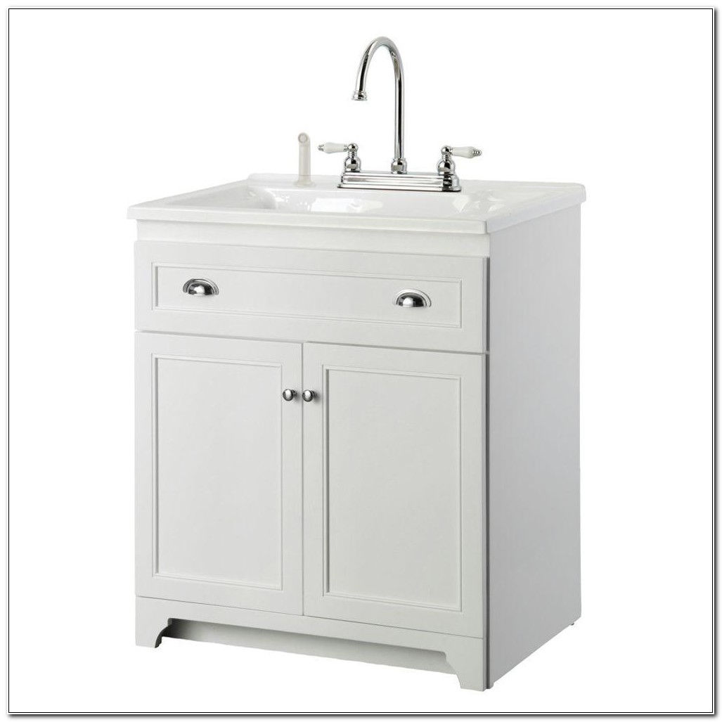 Laundry Room Sink With Vanity
