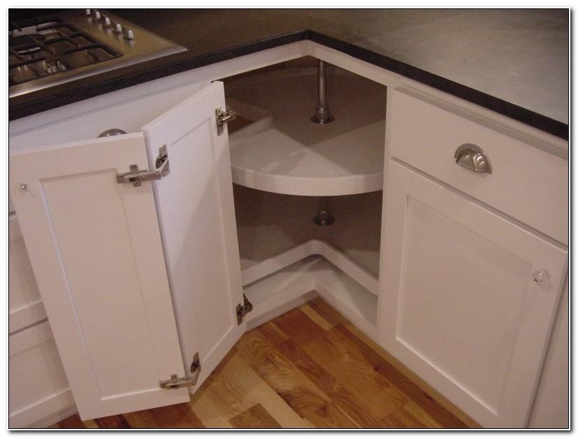 Lazy Susan For Kitchen Cabinet Corner