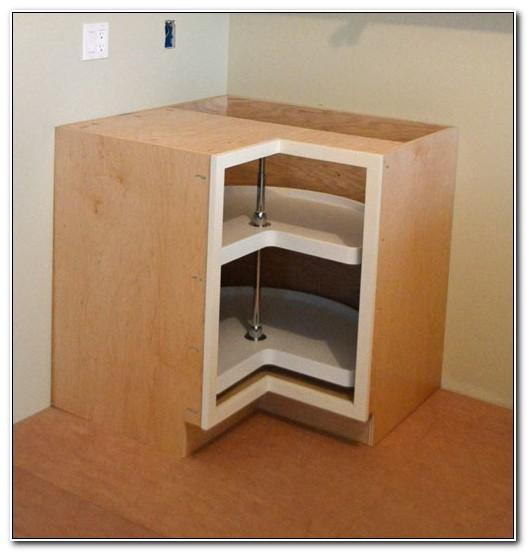 Lazy Susan Kitchen Cabinet Plans