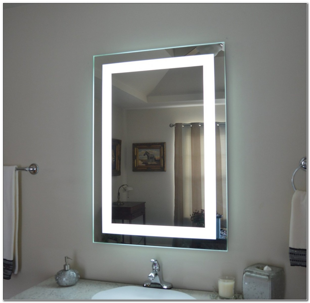 Led Lighted Bathroom Medicine Cabinet