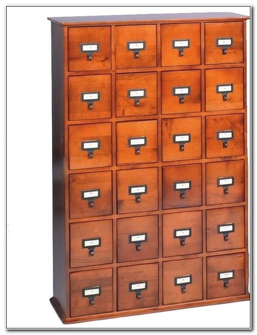 Leslie Dame Deluxe Media Storage Cabinet