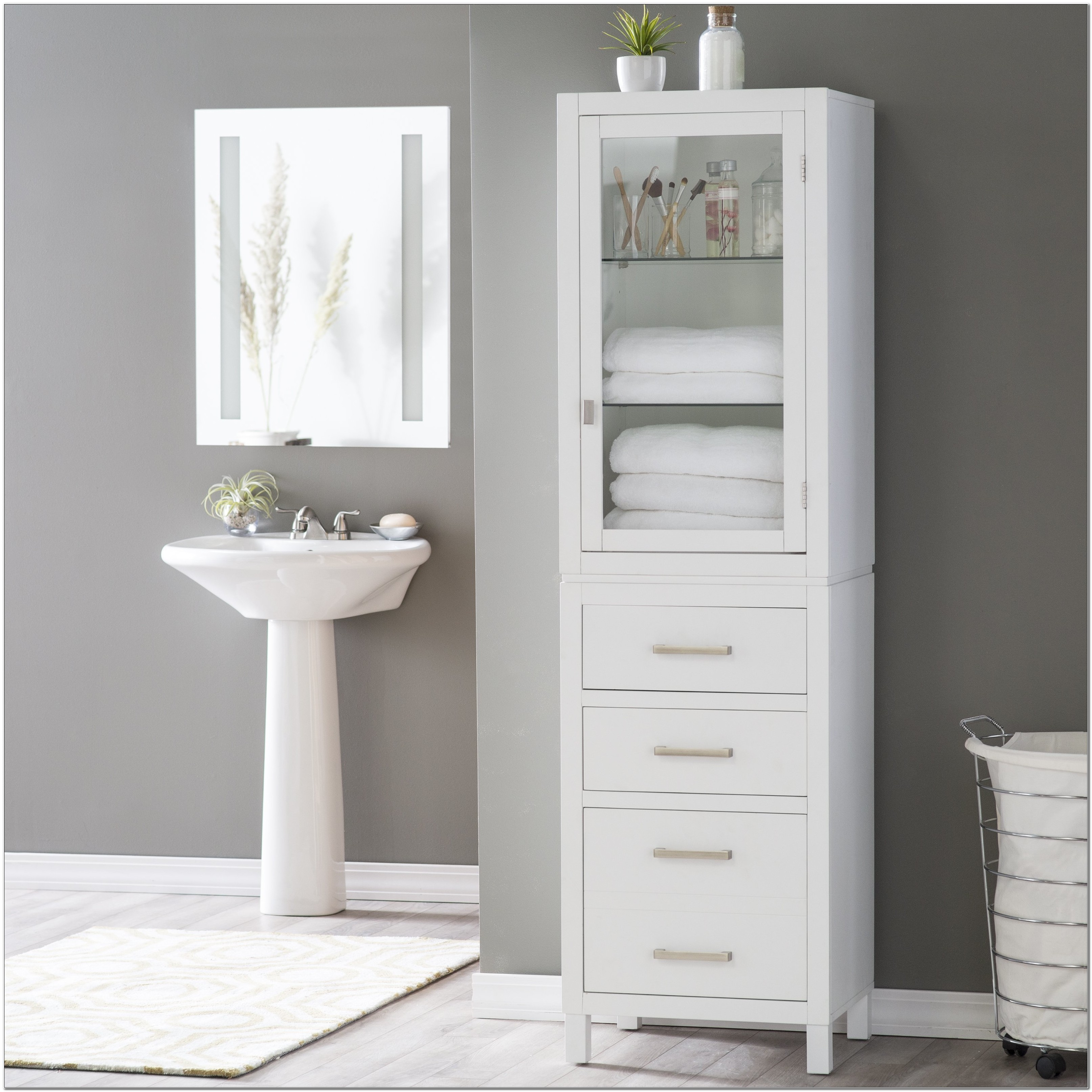 Linen Cabinets For Bathroom Canada