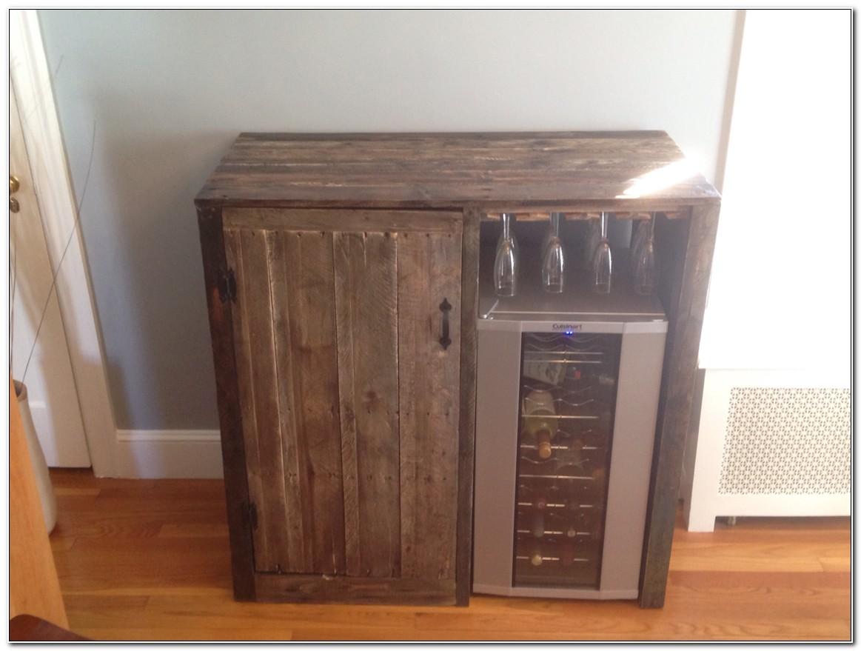 Liquor Cabinet With Fridge