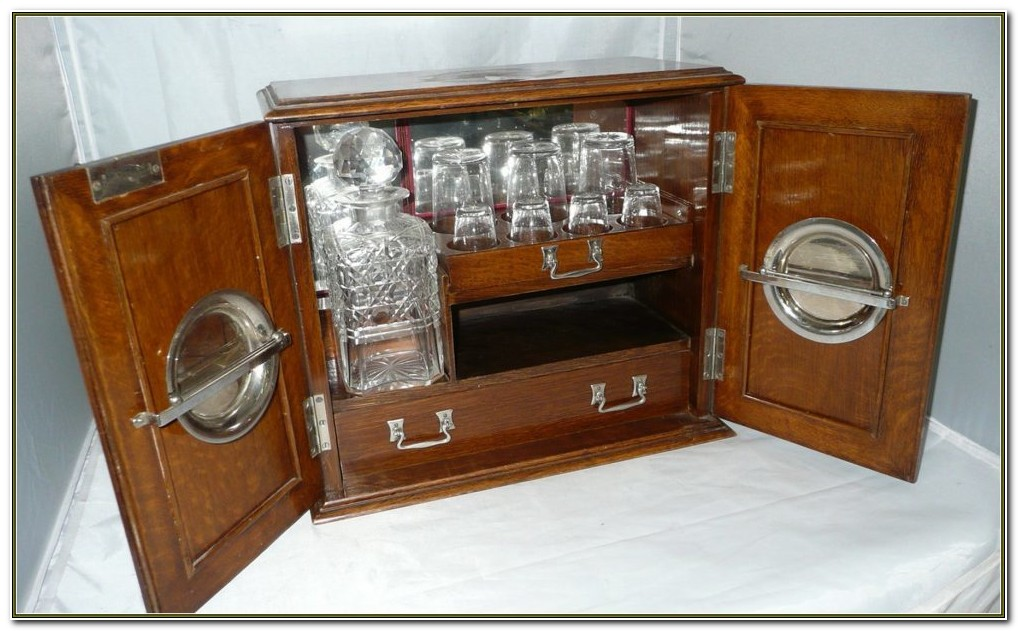 Liquor Cabinet With Lock And Key