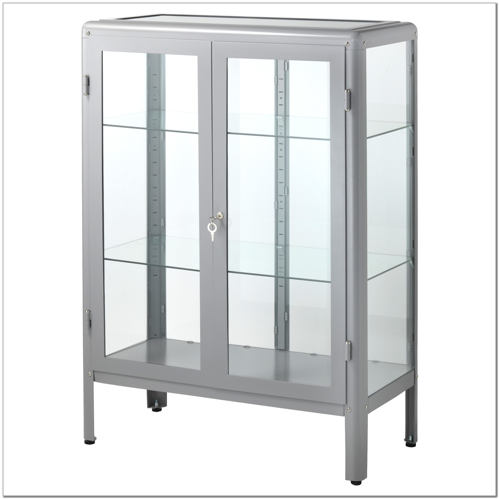 Lockable Glass Display Cabinet Brisbane