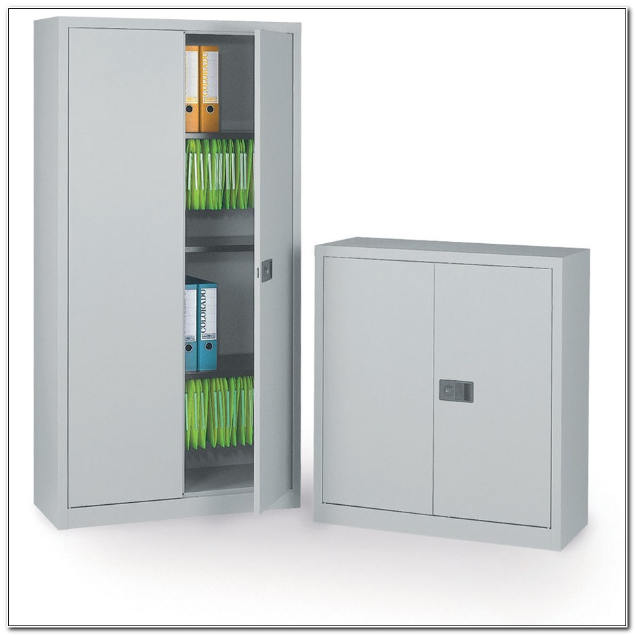 Lockable Metal Storage Cupboard