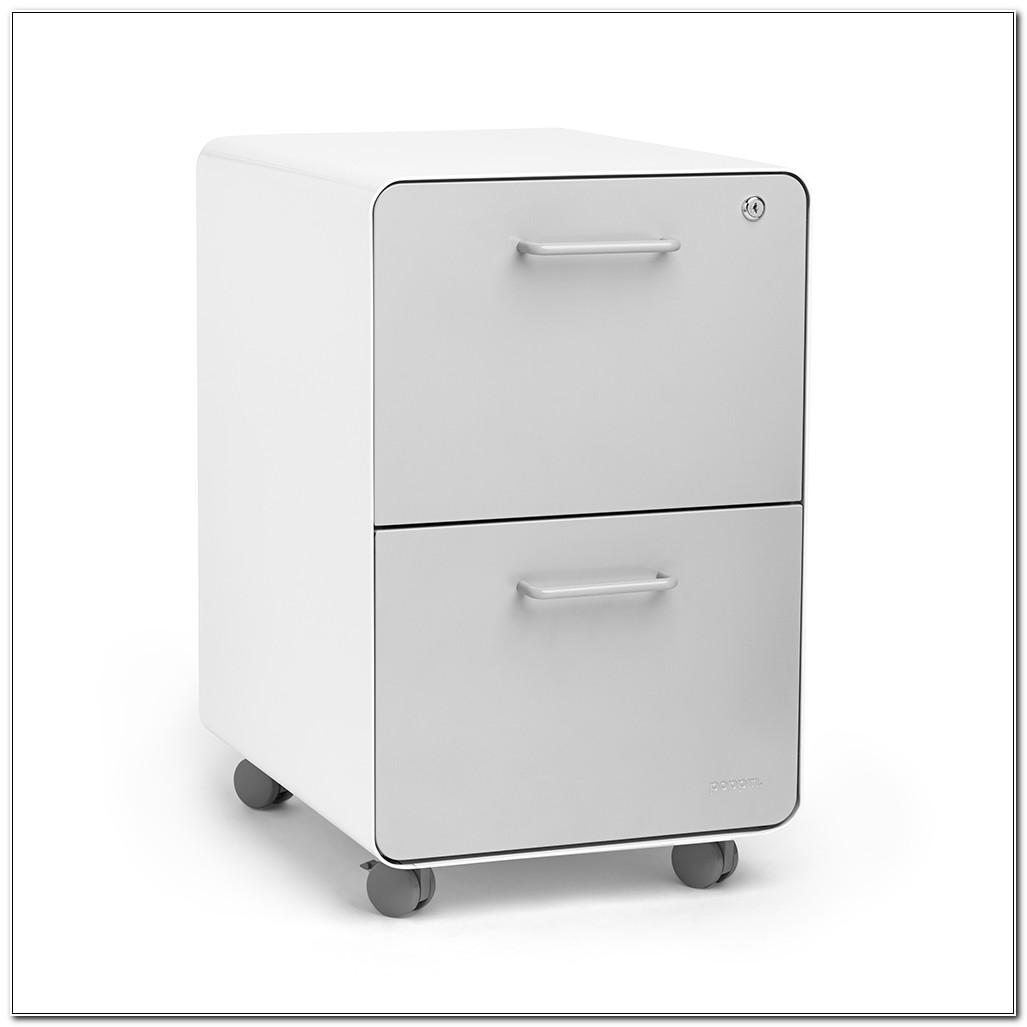 Locking 2 Drawer File Cabinets