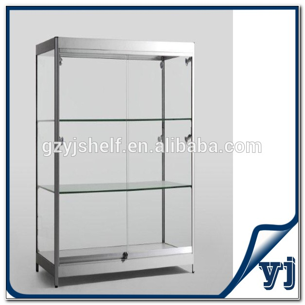 Locking Glass Display Cabinets