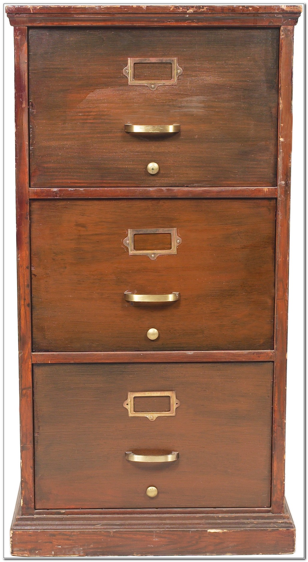 Locking Wooden Filing Cabinets