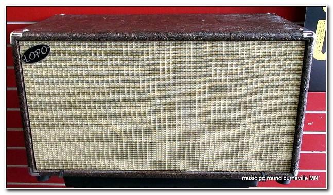 Lopo 2x12 Guitar Speaker Cabinet