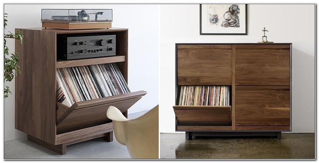 Lp Record Storage Cabinet