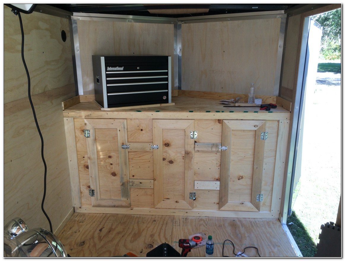 Making Cabinets For Enclosed Trailer