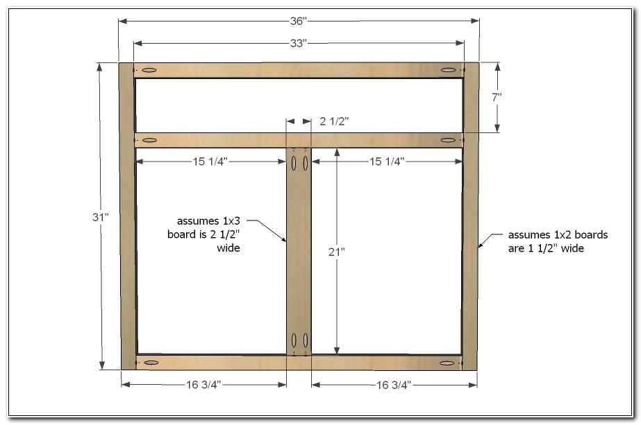 Making Face Frame Kitchen Cabinets