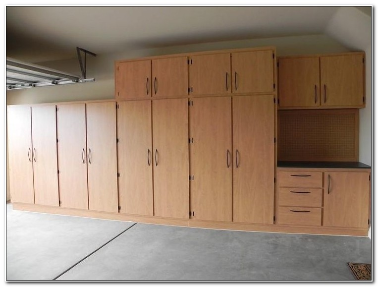 Making Your Own Garage Cabinets