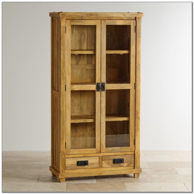 Mango Wood Furniture Display Cabinet