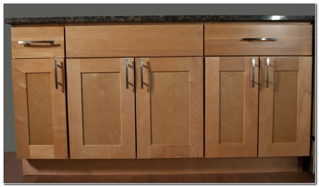 Maple Shaker Kitchen Unit Doors