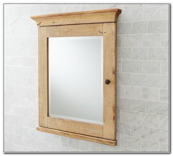 Mason Reclaimed Wood Medicine Cabinet
