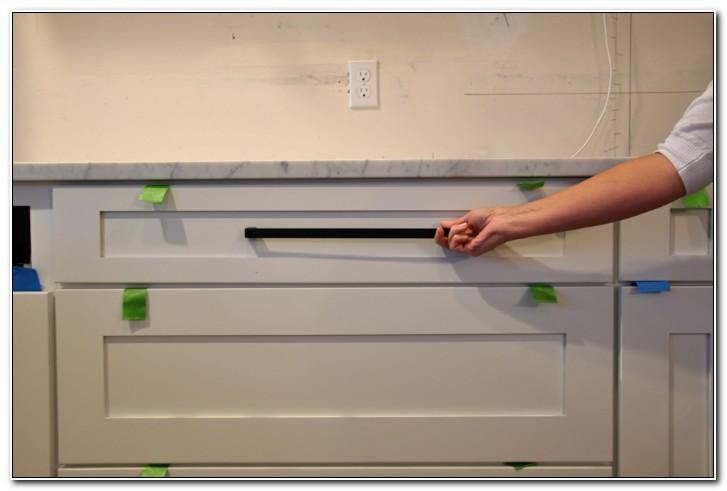 Matte Black Kitchen Cabinet Pulls