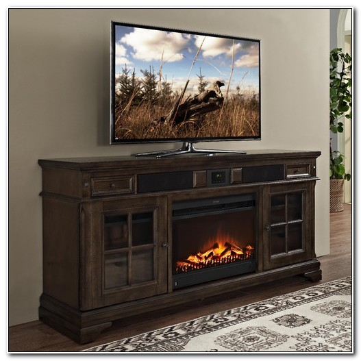 Media Stands With Electric Fireplace