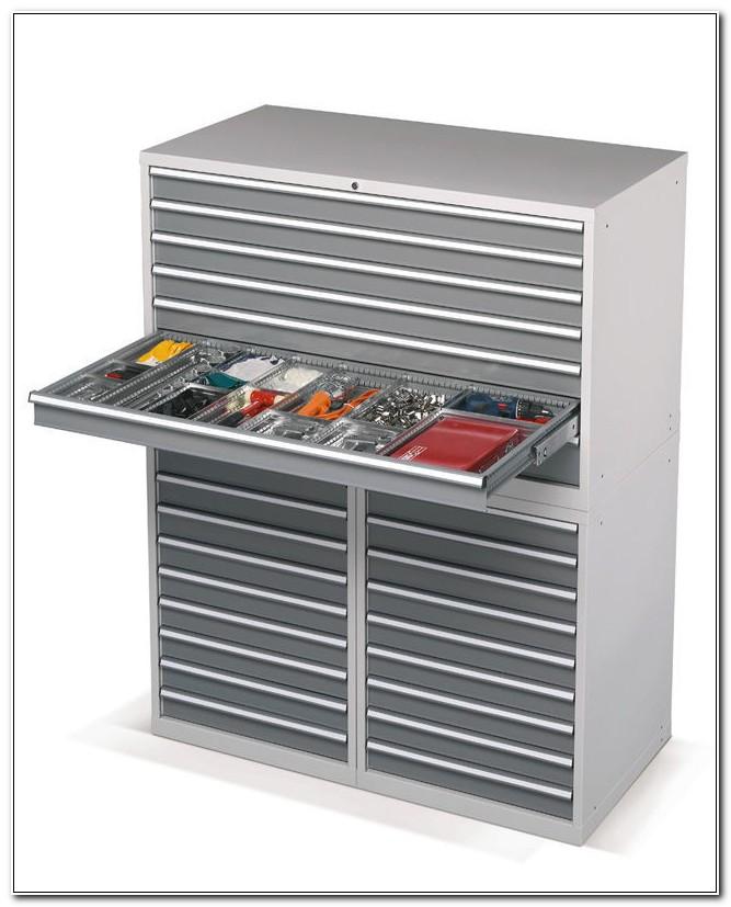 Metal Multi Drawer Storage Cabinet
