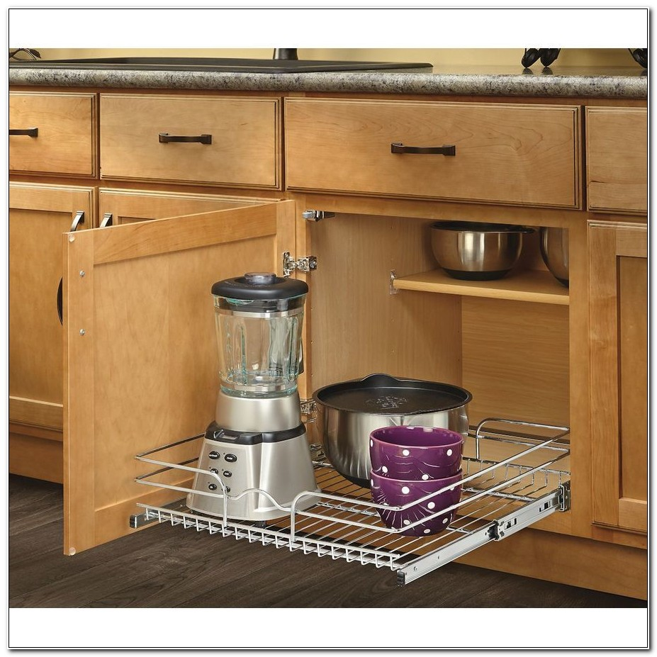Metal Pull Out Cabinet Basket