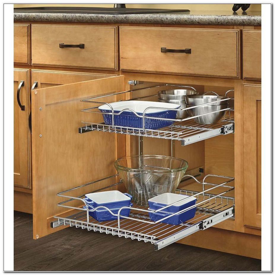 Metal Sliding Shelves For Kitchen Cabinets