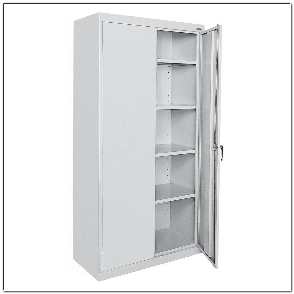 Metal Storage Cabinets With Shelves