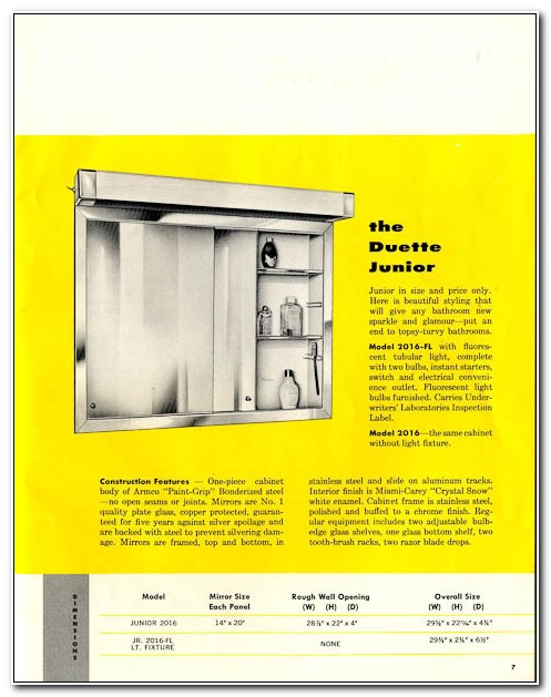 Miami Carey Recessed Medicine Cabinets