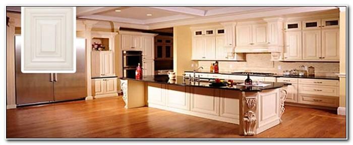 Mills Pride Champagne Oak Kitchen Cabinets
