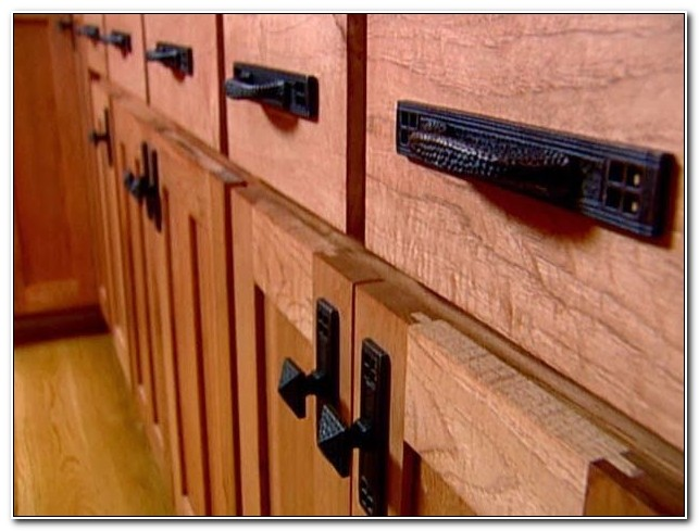 Mission Style Furniture Drawer Pulls