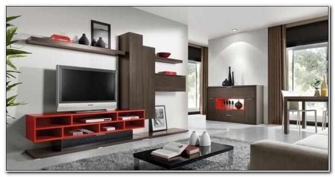 Modern Cabinet Designs For Living Room