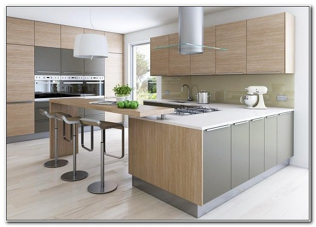 Modern Oak Kitchen Design