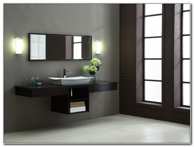 Modern Sink Cabinets For Bathrooms