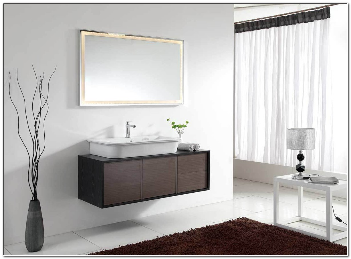 Modern Wall Mounted Bathroom Cabinets
