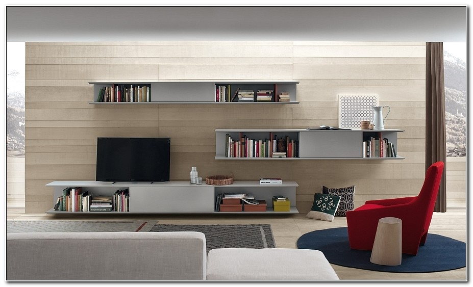 Modern Wall Unit For Living Room