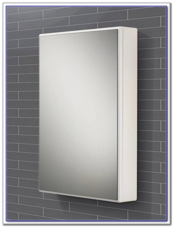 Montana Single Swivel Mirror Door Bathroom Cabinet