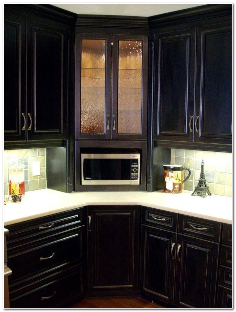 Mounting Microwave Under Corner Cabinet