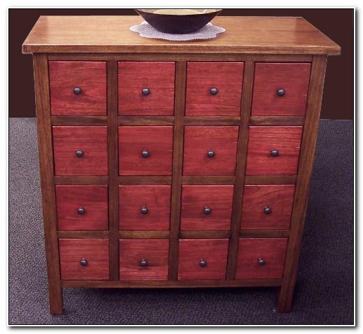 Multi Drawer Storage Cabinet Wood