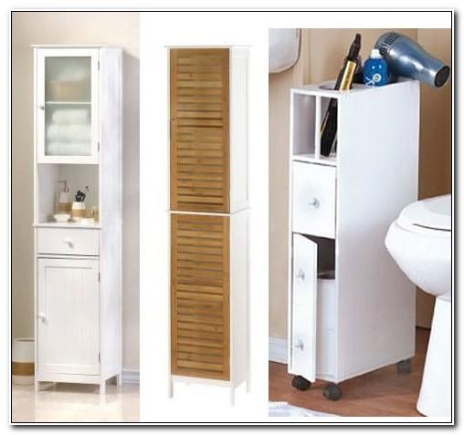 Narrow Floor Cabinet For Bathrooms