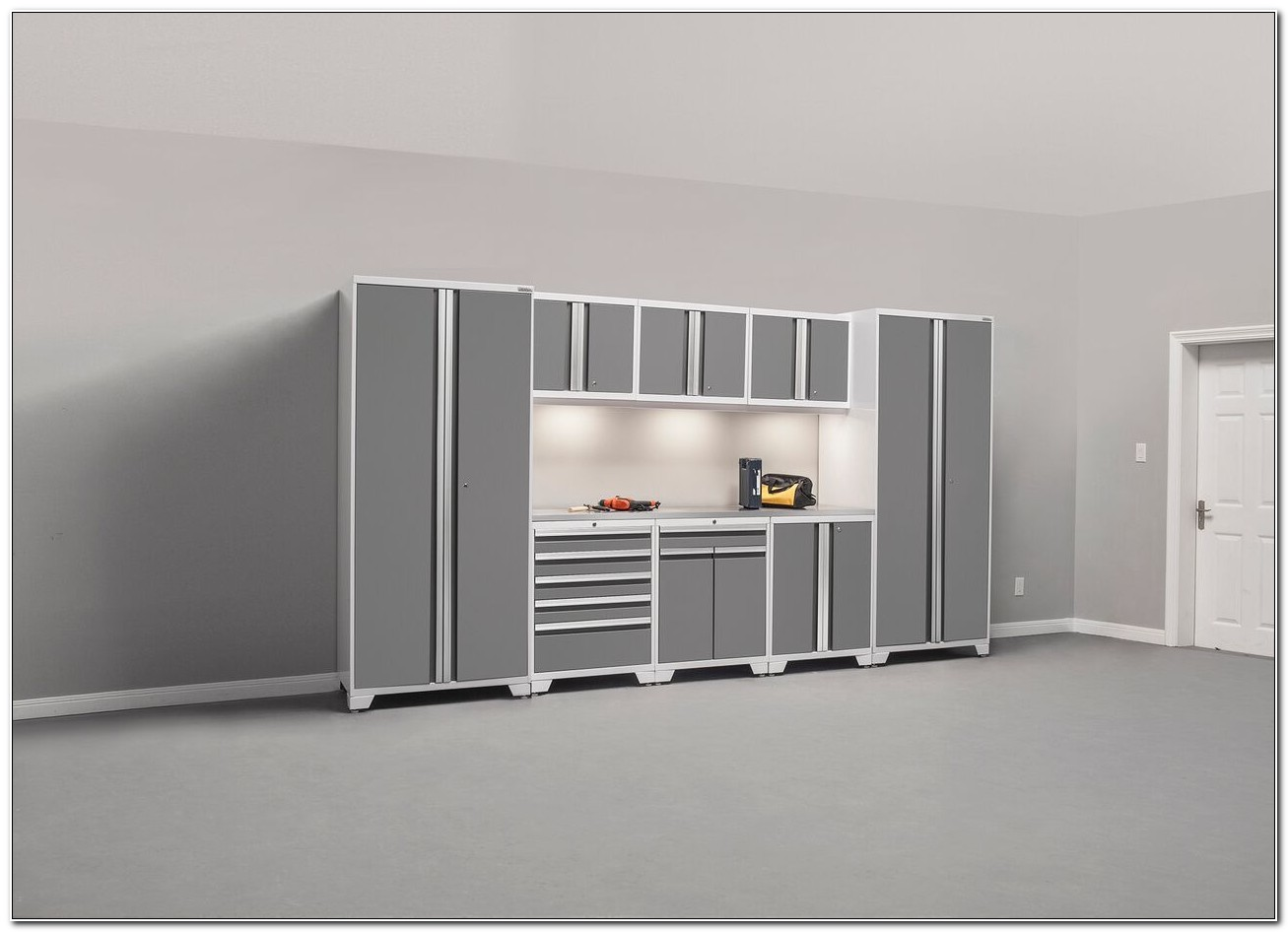 New Age Pro Series Garage Cabinets