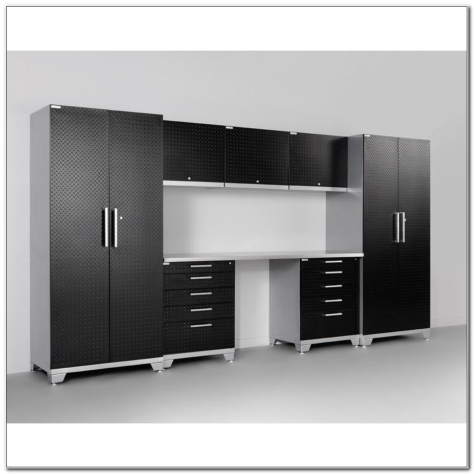 Newage Diamond Plate Garage Cabinets